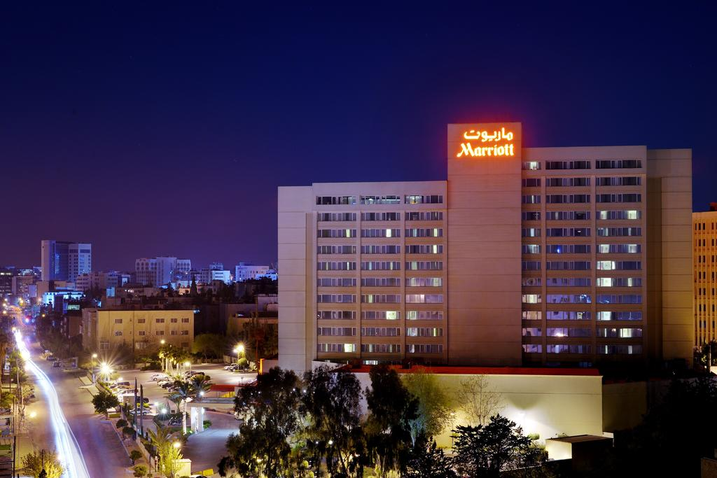 Отель Amman Marriott 5 звезд, Амман, Иордания
